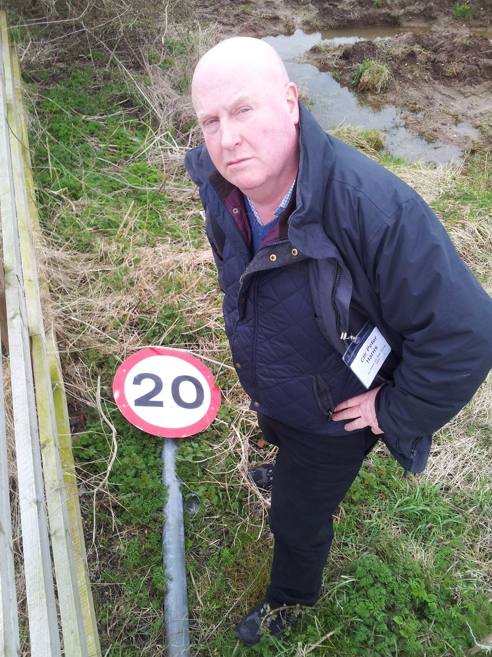 The County Council have put 20mph zones inthe ditch - they are letting Southwell's residents down again.